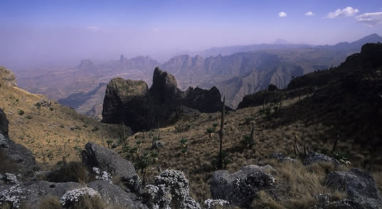 SIMIEN MOUNTAINS, LALIBELA AND AXUM
