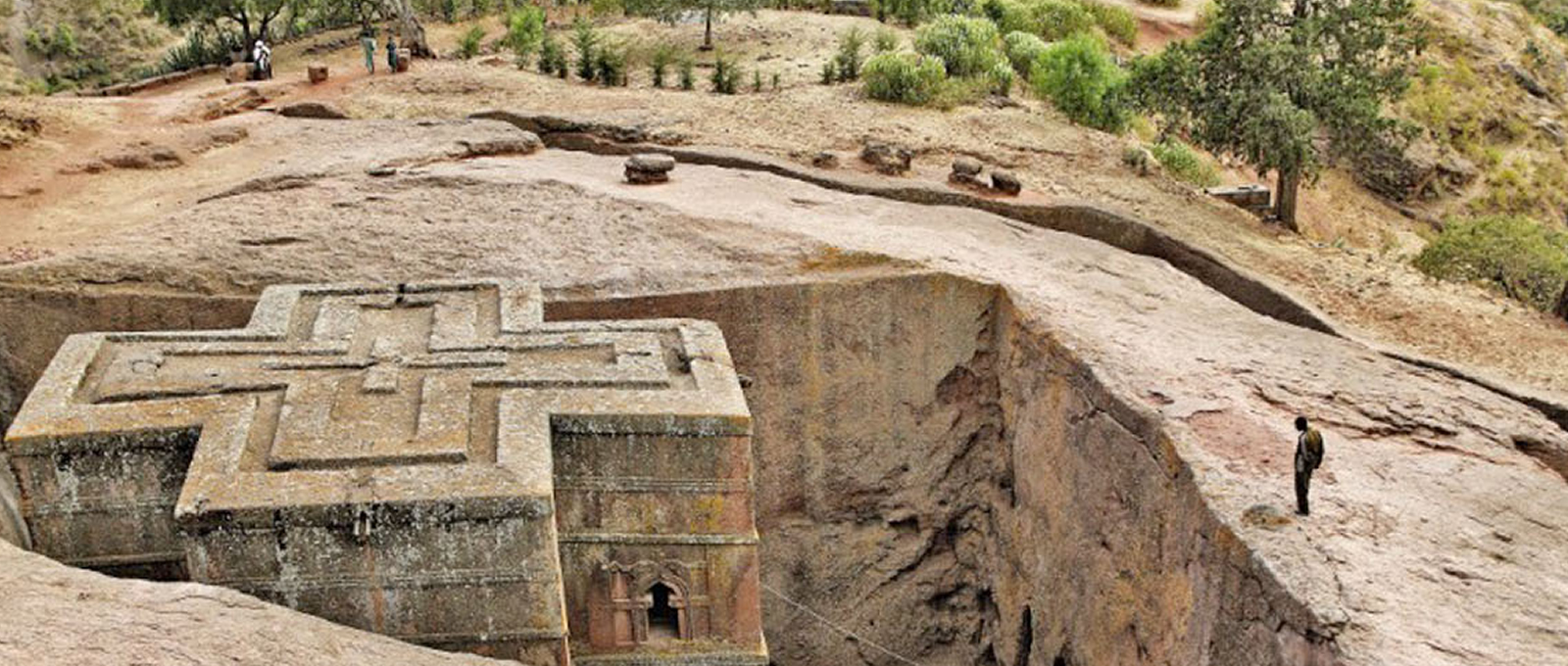 The Rock-Hewn church of Lalibela