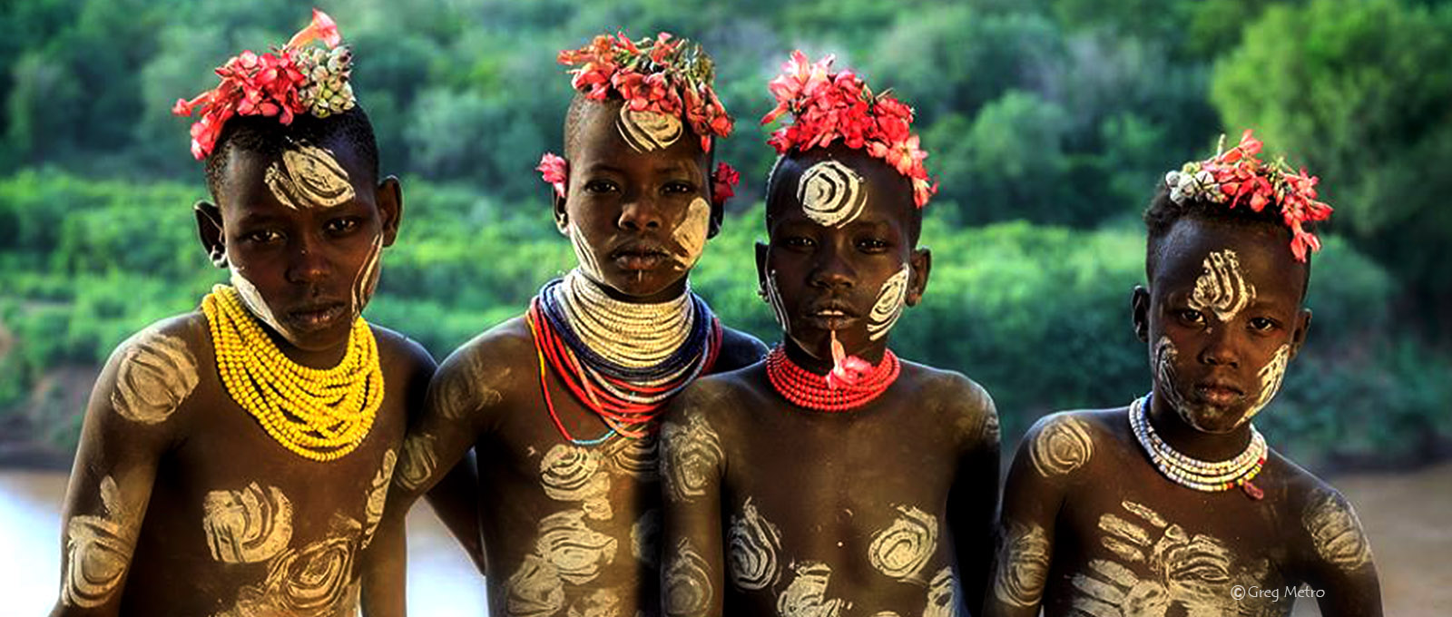 The Striking tribes of Omo valley